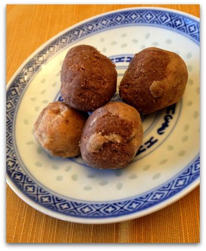 Cookie Dough Protein Powder Balls