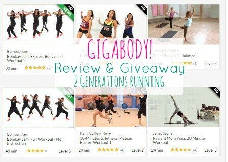 Gigabody Giveaway and Review. 2 Generations Running.