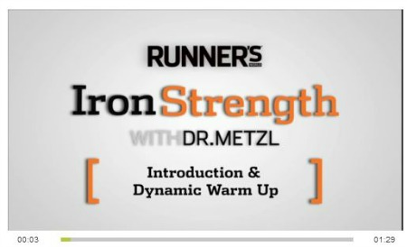 Runner's World Iron Strength Workout.
