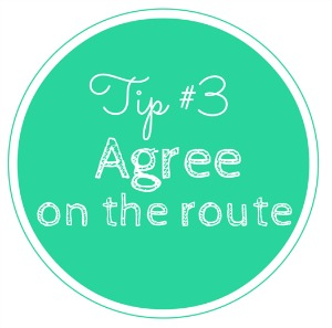 Tip 3 - Agree on the route. How to run with a buddy. 2 Generations Running