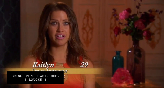 Kaitlyn from the Bachelor.
