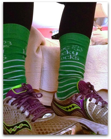 Me Lucky Socks | 2 Generations Running