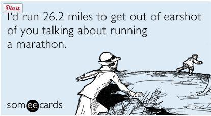 Running A Marathon ECard | 2 Generations Running