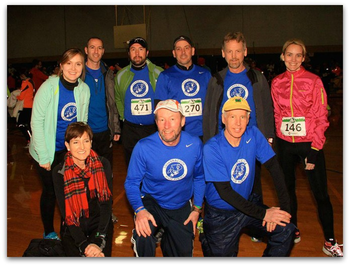 Squannacook River Runners at Stu's Relay.