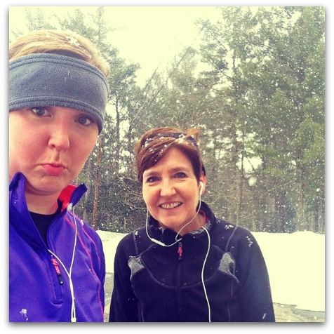 Unimpressed with winter running| 2 Generations Running