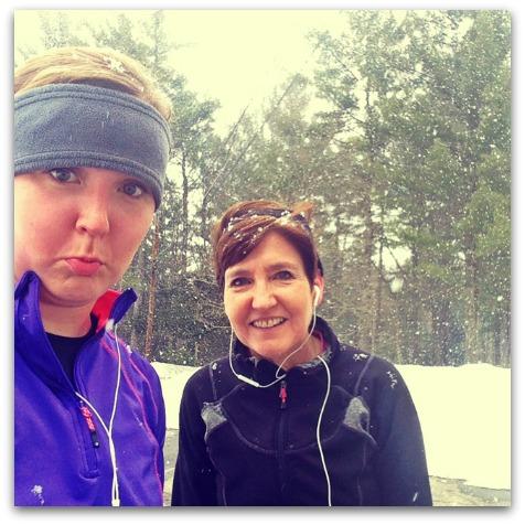 Unimpressed with winter running| 2 Generations Running