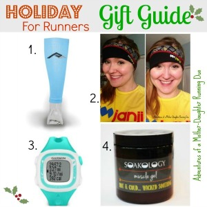 Holiday Gift Guide for Runners | 2 Generations Running