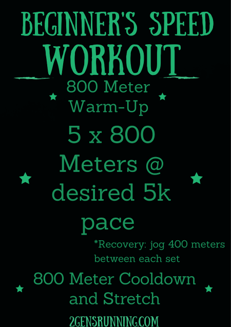Beginner's Speed Workout