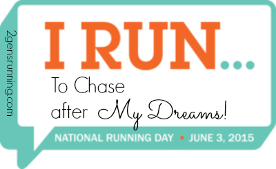 National Running Day | 2 Generations Running