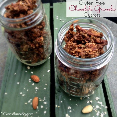 Gluten-Free Chocolate Granola Clusters | 2 Generations Running