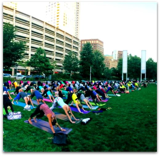 Yoga on the Greenway