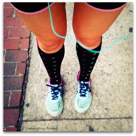 Lily Trotters Compression Socks Review | 2 Generations Running