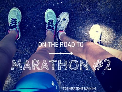 On the road to Marathon #2 | 2 Generations Running