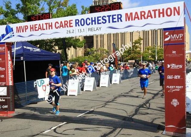 Rochester Marathon | 2 Generations Running