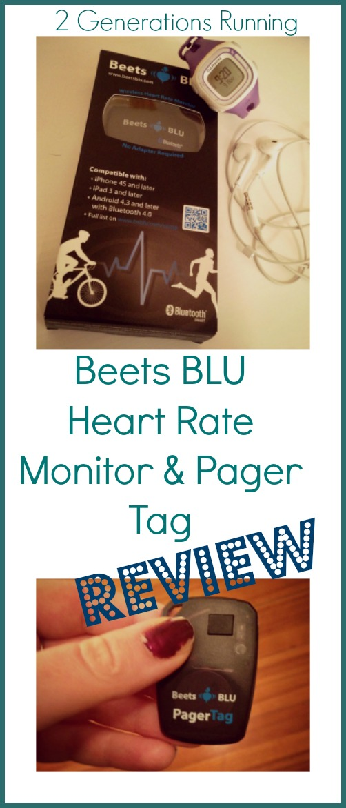 Beets BLU Heart Rate Monitor and Pager Tag Review