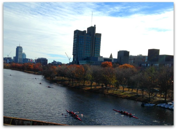 Running Along the Charles River, Boston | 2 Generations Running