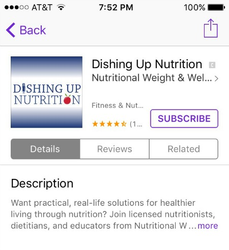 Dishing Up Nutrition Review | 2 Generations Running