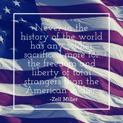 Veterans Day Quote Zell Miller
