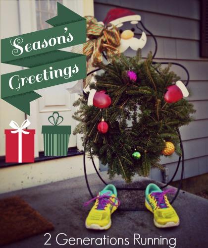 Season's Greetings from 2 Generations Running