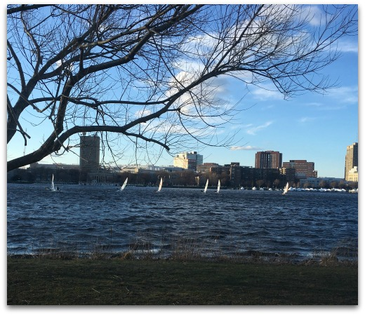Running along the Charles
