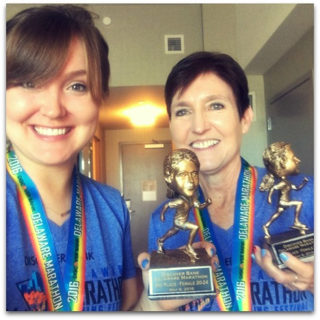 Delaware Marathon Race Recap | 2 Generations Running
