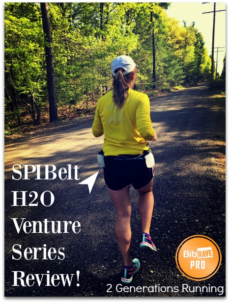 SPIBlelt H2O Venture Series Hydration Belt | 2 Generations Running