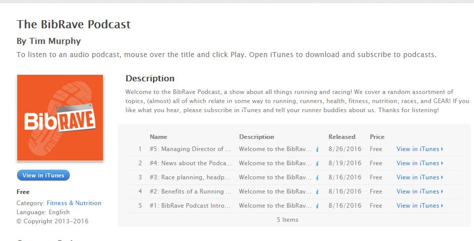 Bibrave Podcast