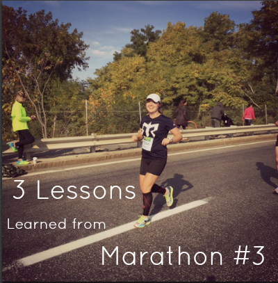 3 Lessons Learned From Marathon #3 | 2 Generations Running