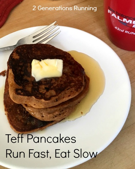 Teff Pancakes | Run Fast Eat Slow