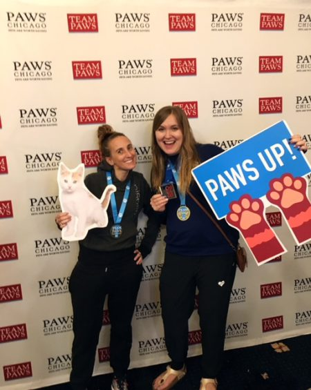 Team Paws Chicago Marathon